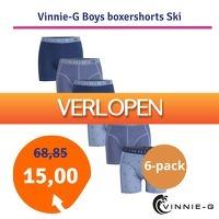 1dagactie.nl: Vinnie-G Boys Kinder 6-pack boxershorts