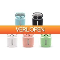Groupon 3: Koptelefoon met verlichte oplaadcase