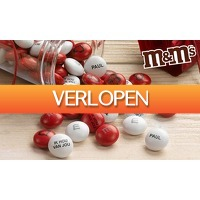Groupon 1: Personaliseer M&M's met foto, clipart of tekst