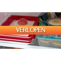 Groupon 2: Siliconen tray voor voedsel