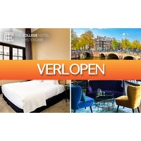 SocialDeal.nl 2: Overnachting voor 2 + diner in Amsterdam Oud-Zuid