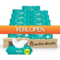 Actie.deals 3: Voordeelpakket Pampers Fresh Clean Baby doekjes (624 stuks)