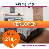 1dagactie.nl: Boxspring Berlijn