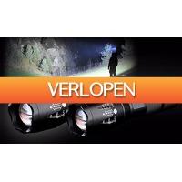 ActievandeDag.nl 1: Militaire zaklampen 1+1 gratis