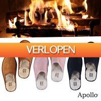 Elkedagietsleuks Ladies: Warme Apollo pantoffels