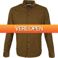 Suitableshop: No-Excess overhemd Corduroy bruin