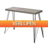VidaXL.nl: vidaXL Wandtafel 90 x 30 x 71,5 cm grijs