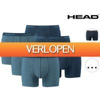 iBOOD Sports & Fashion: 6 x Head basic boxershorts