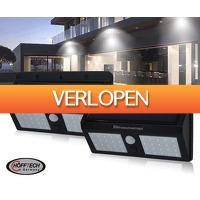 Voordeelvanger.nl 2: 2 x Felle dubbele solar LED wandlamp