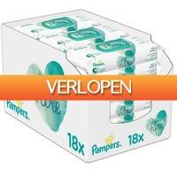 Voordeeldrogisterij.nl: Pampers Aqua Pure Sensitive babydoekjes
