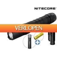 iBOOD DIY: Nitecore P12 tactische zaklamp + NL2140 batterij en lader