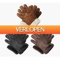 Koopjedeal.nl 2: Lederen handschoenen voor dames en heren