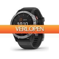 iBOOD.com: Garmin Fenix 6 solar sporthorloge