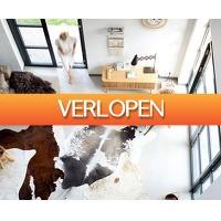 Voordeelvanger.nl 2: XL schapenvachten en koeienhuiden