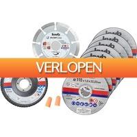 Alternate.nl: KWB doorslijpschijven starter-set 115x x22.23mm