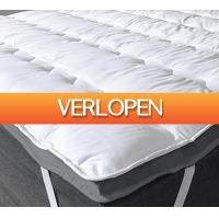 Koopjedeal.nl 2: 3D Air Hotel topdekmatras met NASA traagschuim | Verhoogt het ligcomfort van je huidige matras aanzienlijk