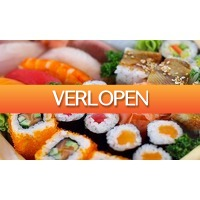 Groupon 1: Sushibox bij Goya City