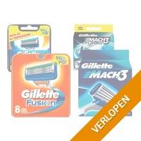 8 x Gillette scheermesjes