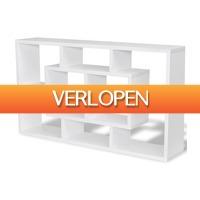 VidaXL.nl: vidaXL wandplank met 8 vakken