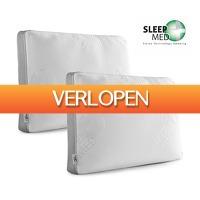 Koopjedeal.nl 3: 2 x SleepMed traagschuim hoofdkussen