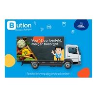 Bekijk de deal van Groupon 1: Waardebon van 20 euro voor online boodschappen bij Butlon Boodschappen