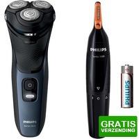 Bekijk de deal van Expert.nl: Philips scheerapparaat S3134/57 series 3000