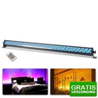 Bekijk de deal van MaxiAxi.com: BeamZ LCB252 Bar 8 Segmenten RGB LED's DMX