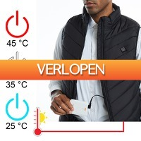 6deals.nl: Elektrisch verwarmde bodywarmer
