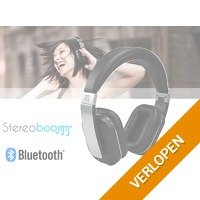 Stereoboomm HP600 opvouwbare koptelefoon