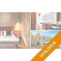 Overnachting voor 2 in hartje Amsterdam