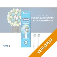 Oral-B Opzetborstels Precision Clean - 2-pack
