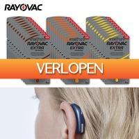 6deals.nl: 60 Rayovac gehoorapparaat-batterijen