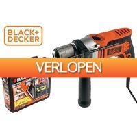 VoucherVandaag.nl: Black+Decker boormachine met koffer en borenset
