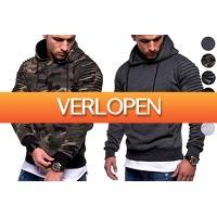 VoucherVandaag.nl: Fleece trui voor heren