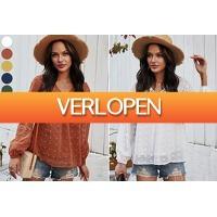 VoucherVandaag.nl: Dots blouse dames
