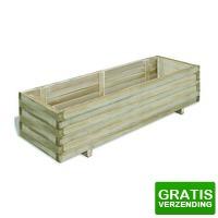 Bekijk de deal van VidaXL.nl: vidaXL plantenbak verhoogd