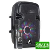 Bekijk de deal van MaxiAxi.com: Fenton FT8LED karaoke speaker