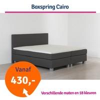 Bekijk de deal van 1dagactie.nl: Boxspring Cairo