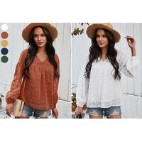 Bekijk de deal van VoucherVandaag.nl 2: Dots dames blouse nu met korting in de sale
