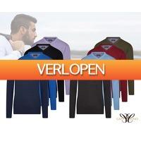 Voordeelvanger.nl: Cappuccino V-hals pullover