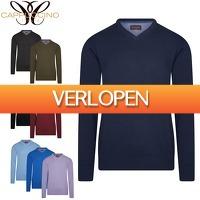 6deals.nl: Luxe pullover met v-hals