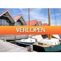 Traveldeal.nl: Verblijf in een havenwoning aan het Sneekermeer in Friesland