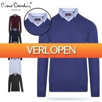 6deals.nl: Pierre Cardin V-hals trui