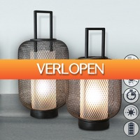 6deals.nl: Sfeervolle LED Lantaarn Duo-pack