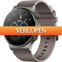 Dagaanbieding: Huawei Watch GT 2 Pro Smartwatch 46 mm (REFURB)