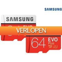 iBOOD Electronics: 2 x Samsung EVO Plus microSD kaart