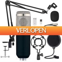 DealDonkey.com 3: USB microfoon inclusief statief, plofkap en popfilter