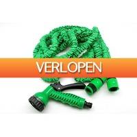 Voordeeldrogisterij.nl: Benson Flexibele Tuinslang 10 meter - inclusief sproeikop