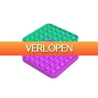 Tripper Producten: Pop It Fidget vierkant  2 stuks