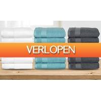 ActievandeDag.nl 1: 6 handdoeken van hotelkwaliteit